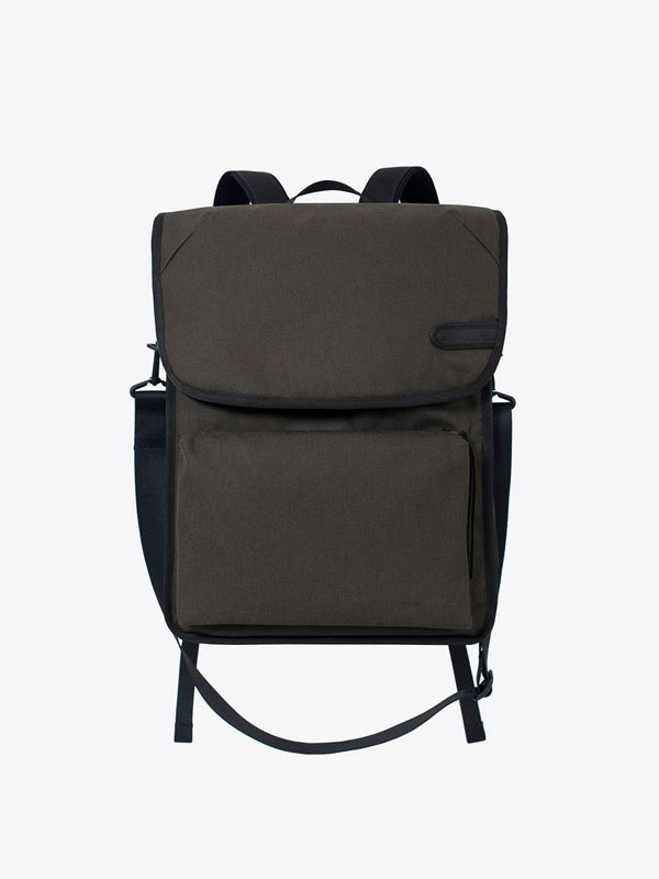 AIRBAG CRAFTWORKS Airbag Craftworks Gunnar Backpack (Olive) AIRBAG  CRAFTWORKS - Vinyl Records Specialists 7f3f29b99cf46